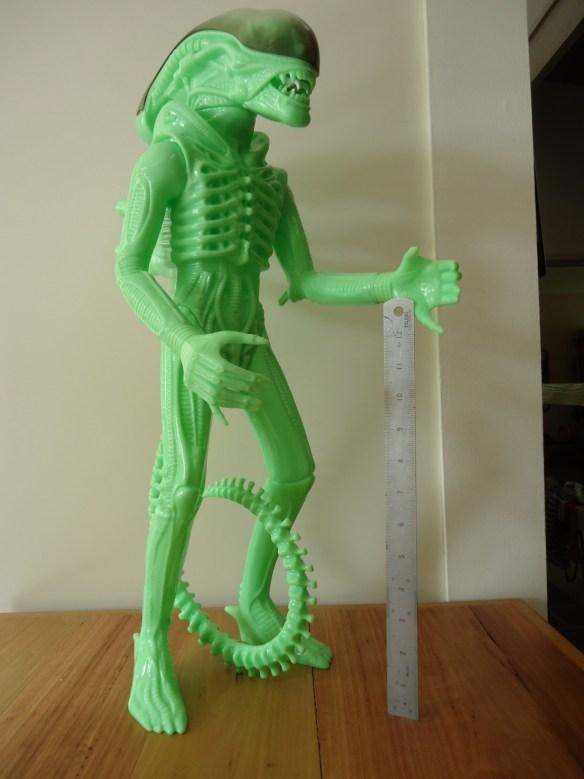 24 inch tall Gentle Giant glow in the dark ALIEN action figure