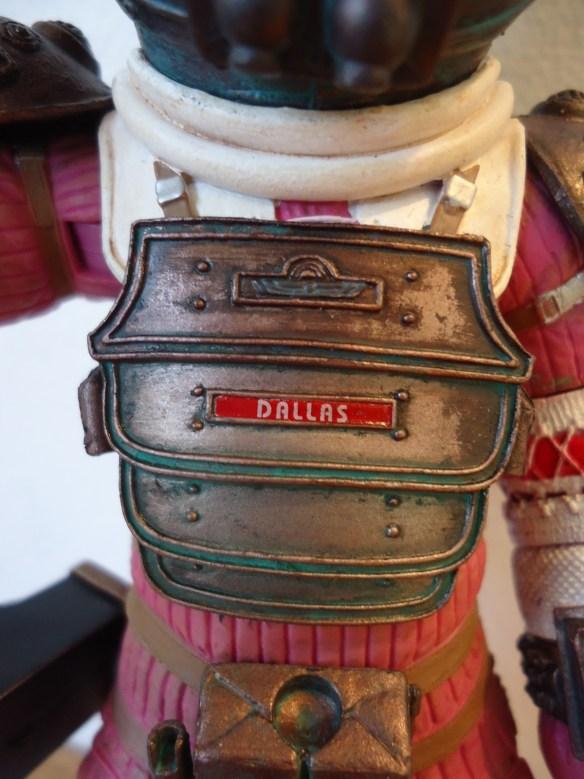 NECA Dallas Compression Suit Action Figure
