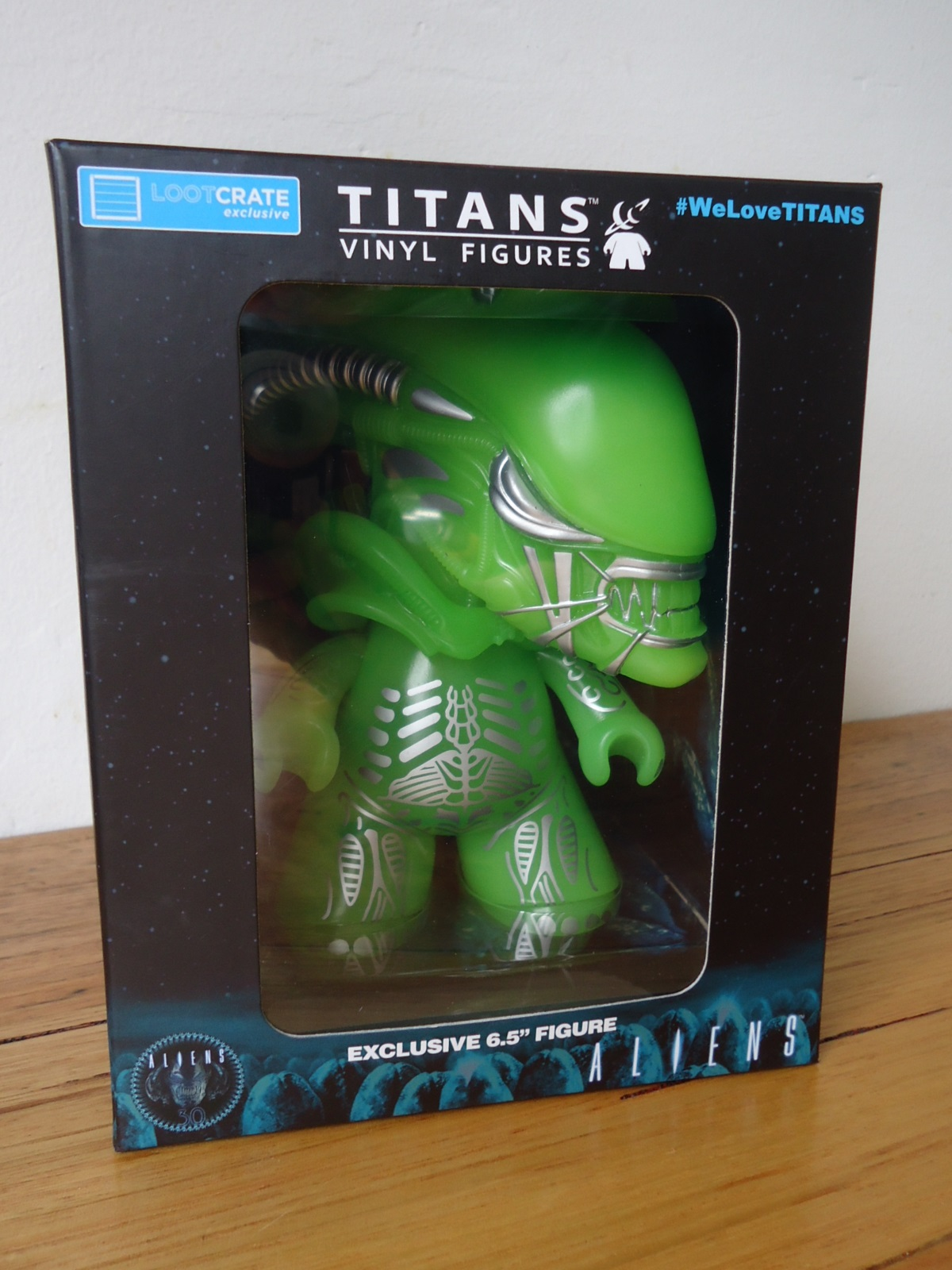 TITANS Glow in the Dark Alien