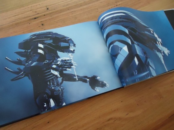 ALIEN PROJECT Custom LEGO Book