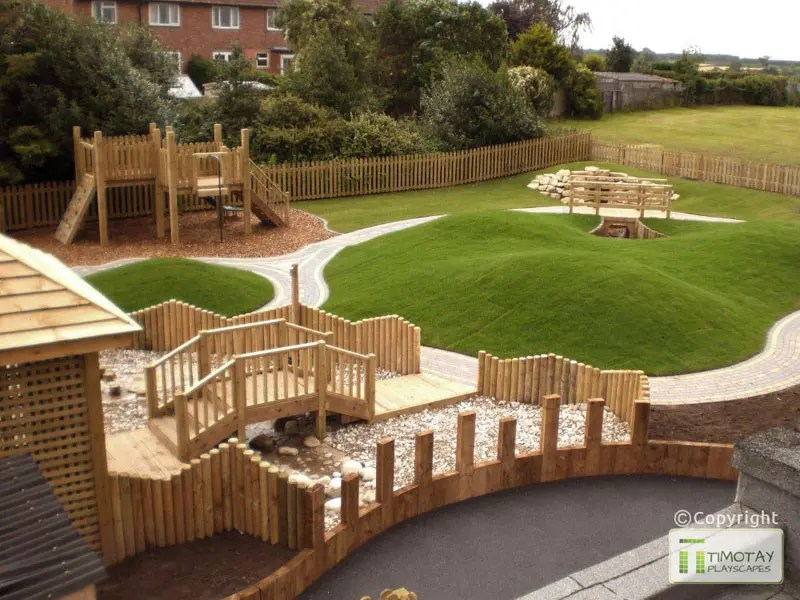 School Nature Play Areas The Hideout House Company