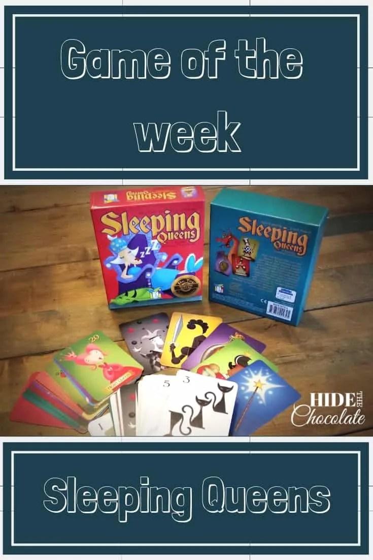 Game of the Week Sleeping Queens PIN