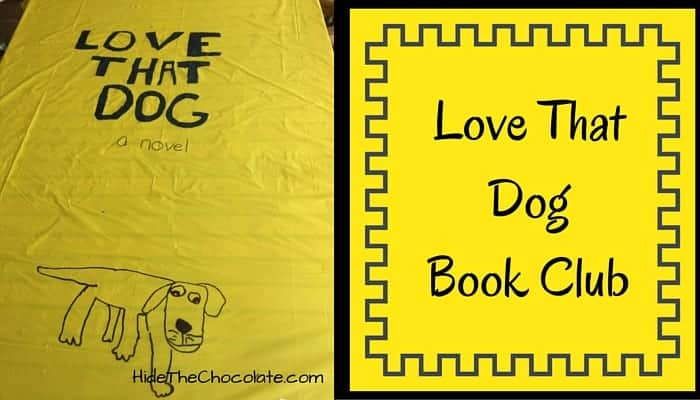Love That Dog Book Club ~ A Poetry Party School