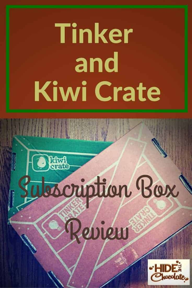 Our Tinker Crate and Kiwi Crate Subscription Box Review is a big thumbs up! The girls love their monthly crates full of STEM fun. And a coupon code is included.  #tinkercrate #kiwicrate #subscriptionbox