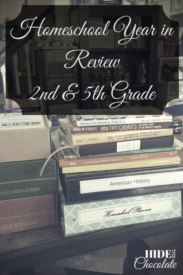 Homeschool Year in Review: 2nd & 5th Grade