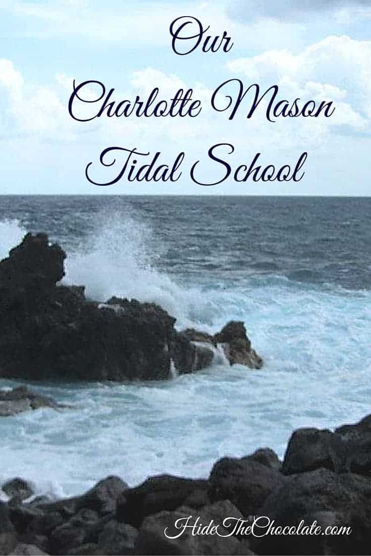 When we started #homeschooling, Charlotte Mason was appealing to me. But, Ms. Mason's philosophy had some components I just couldn't put into practice. Then I discovered Melissa Wiley's Tidal School.  We meshed them together and created a Charlotte Mason Tidal School with a heavy influence of Brave Writer Lifestyle.