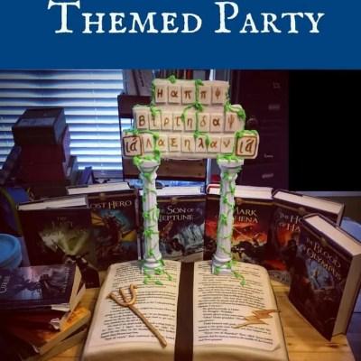 Percy Jackson Themed Party