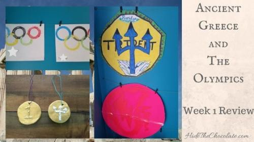 Ancient Greece and Olympic Unit Study Week 1-1