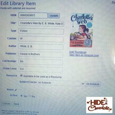 Library Screenshot