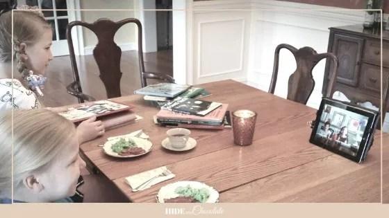 Poetry Teatime - FaceTime Teatime