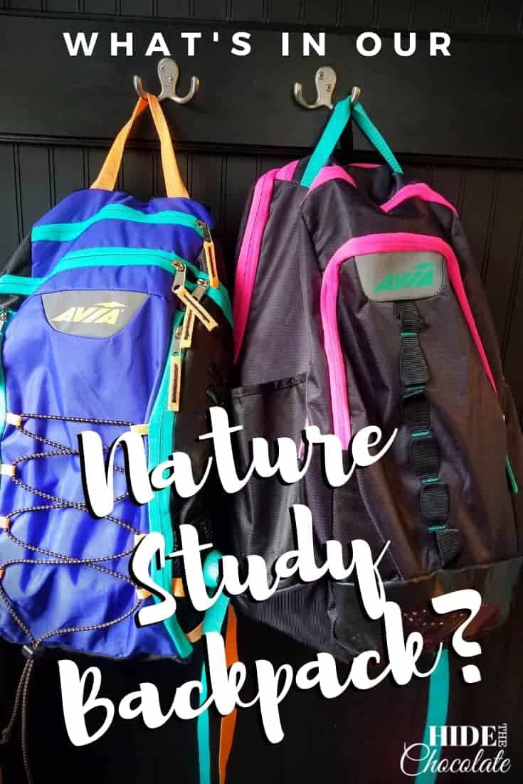 What's In Our Nature Study Backpack?