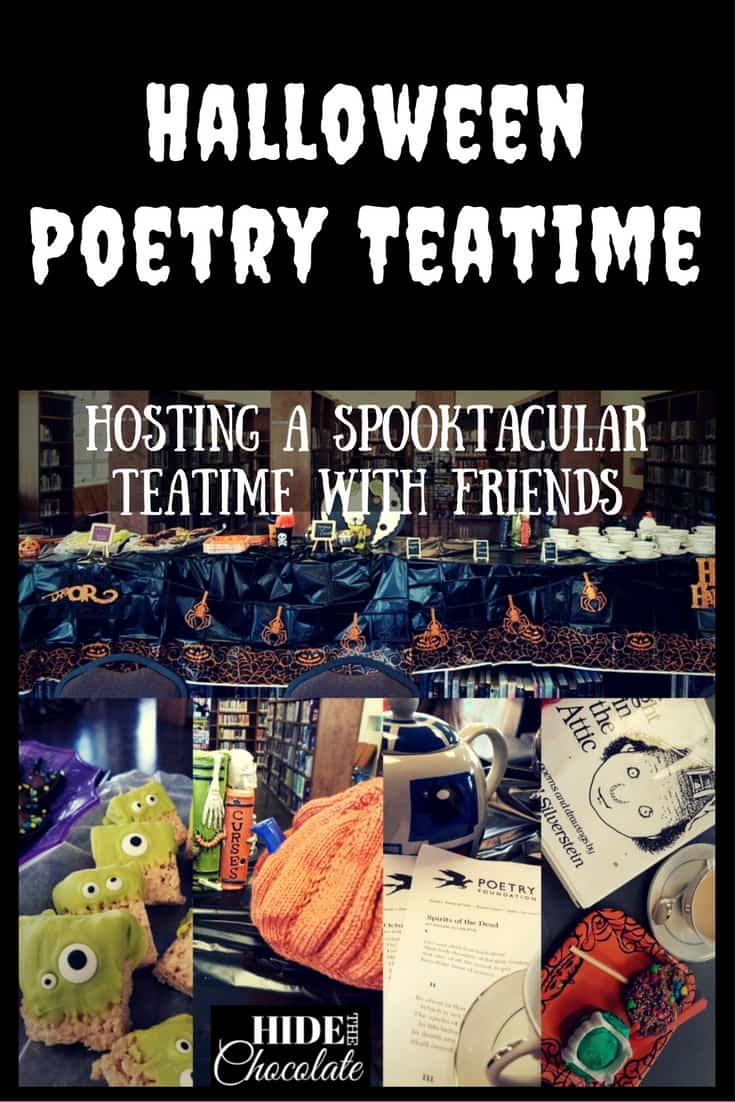 Halloween Poetry Teatime