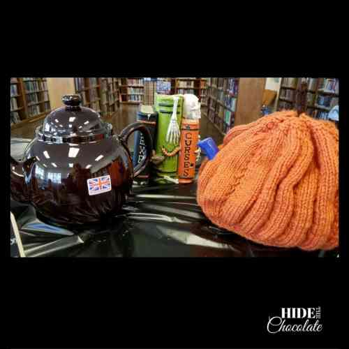 Halloween Poetry Teatime Teapots