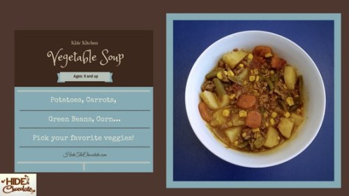 Kids Kitchen: Vegetable Soup