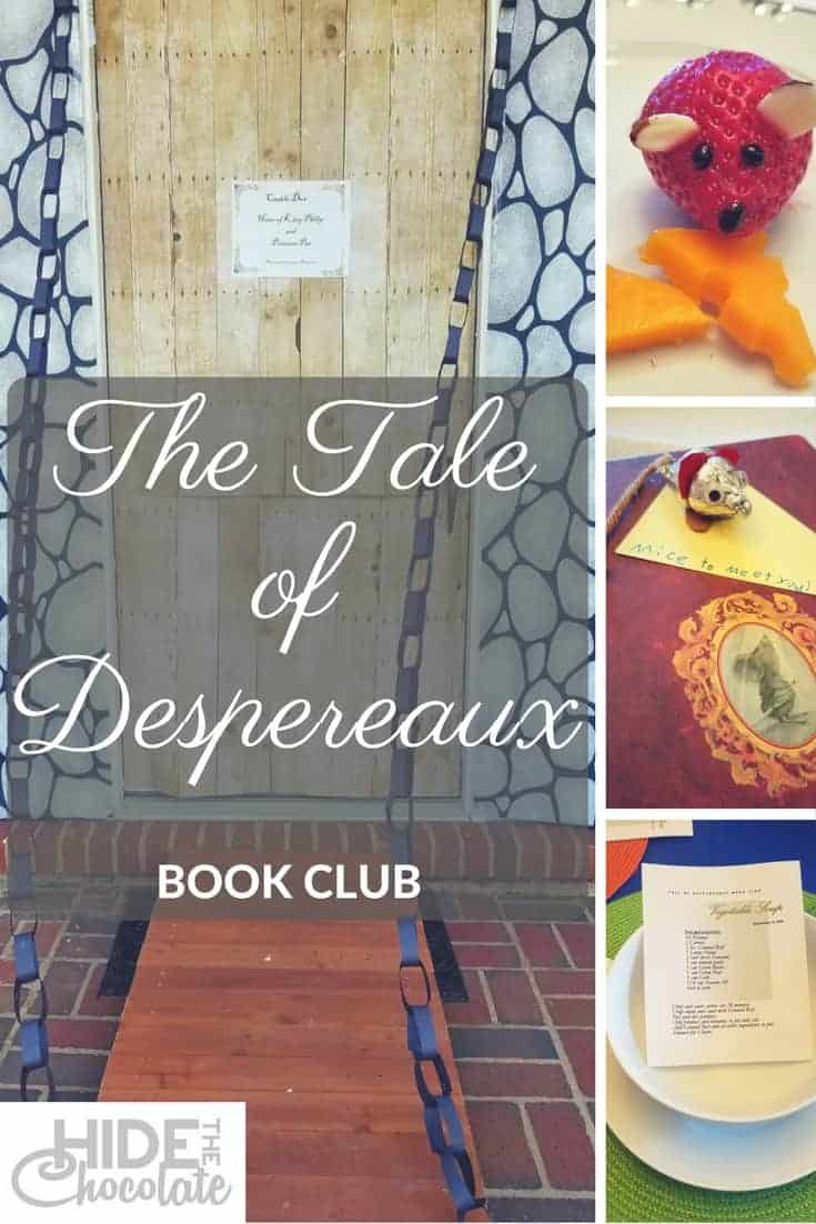 Our book club this month involved a Kate DiCamillo novel, strawberry mice, some illegal soup, and a moat. #homeschool #bookclub #taleofdespereaux