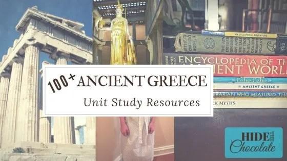 100 Ancient Greece Unit Study Resources