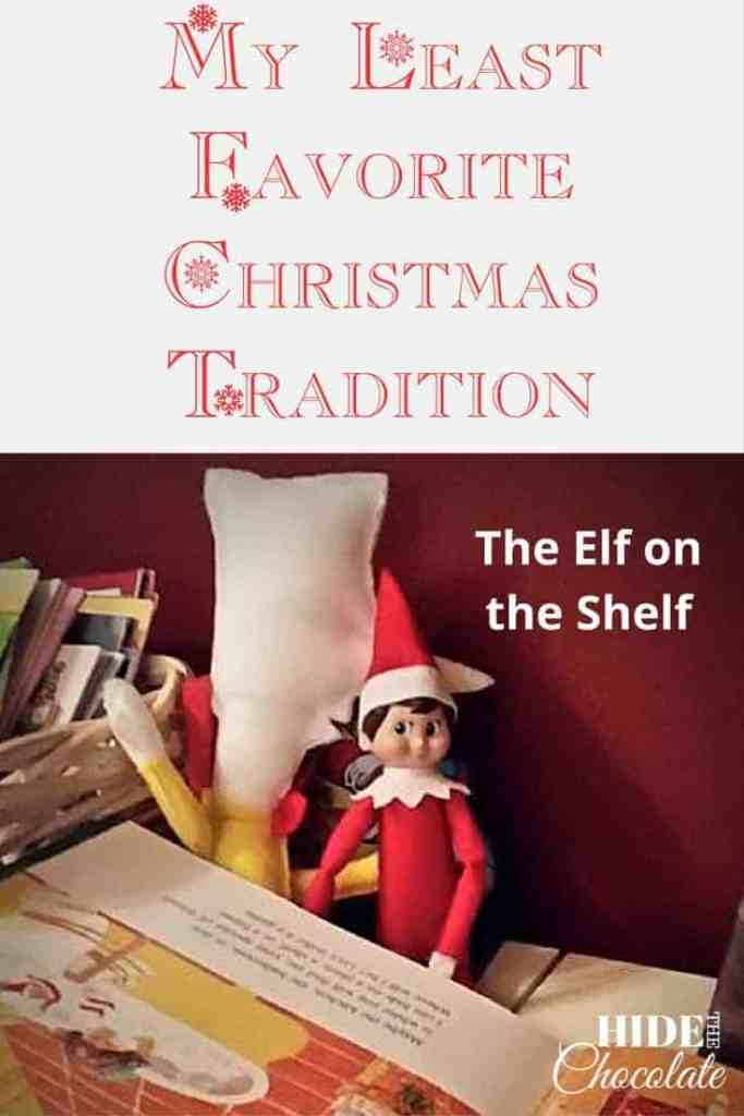 The Elf on the Shelf is My Least Favorite Christmas Tradition