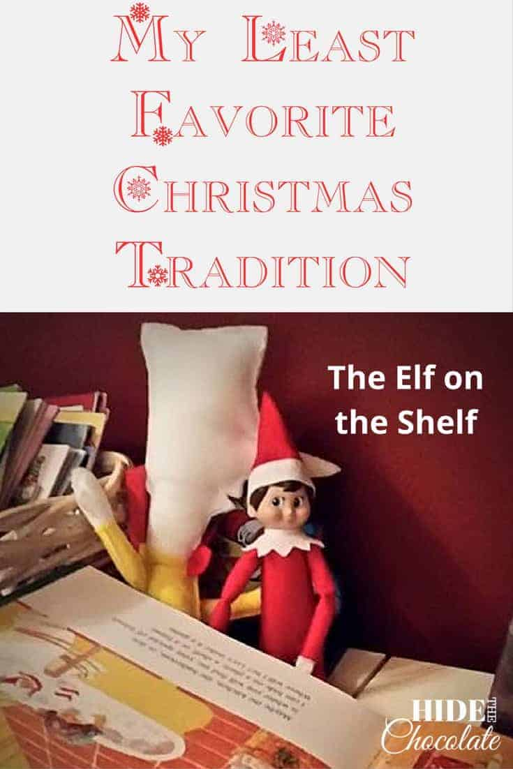 my least favorite christmas tradition the elf on the shelf - Elf On The Shelf Christmas Tradition