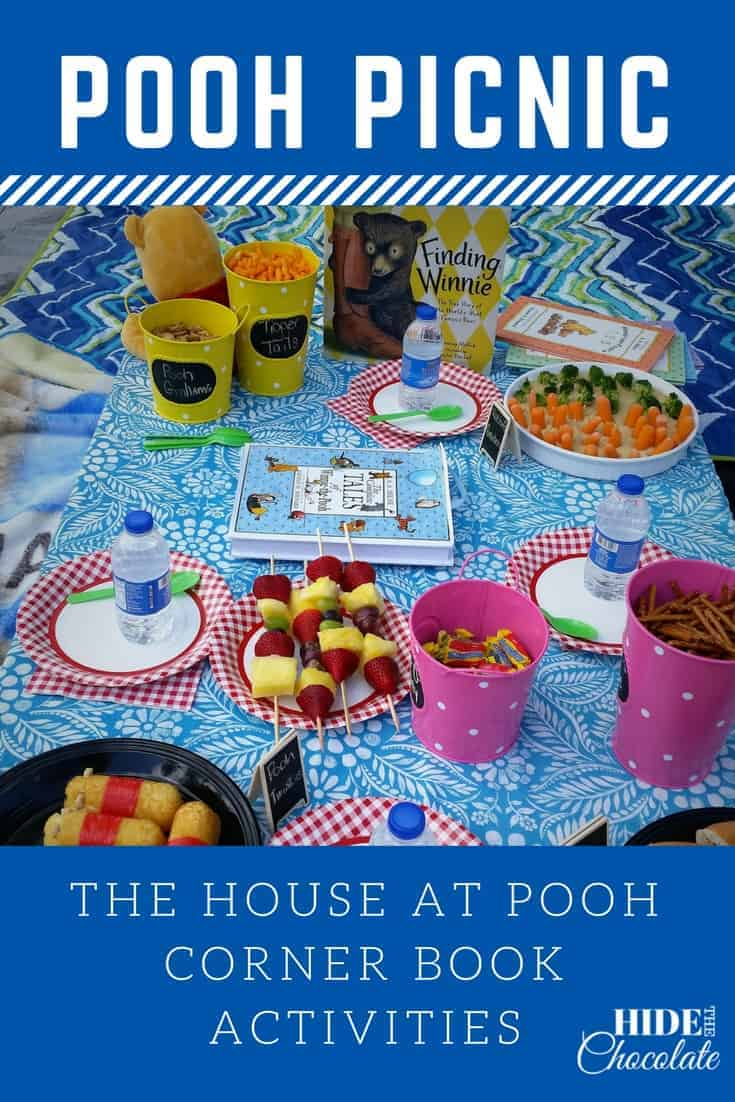 The House at Pooh Corner Nature Book Club ~ Pooh Picnic