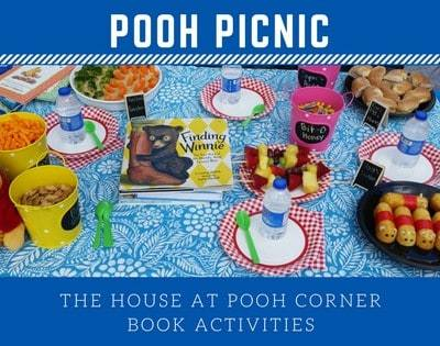 The House at Pooh Corner Nature Book Club ~ A Party School with a Picnic