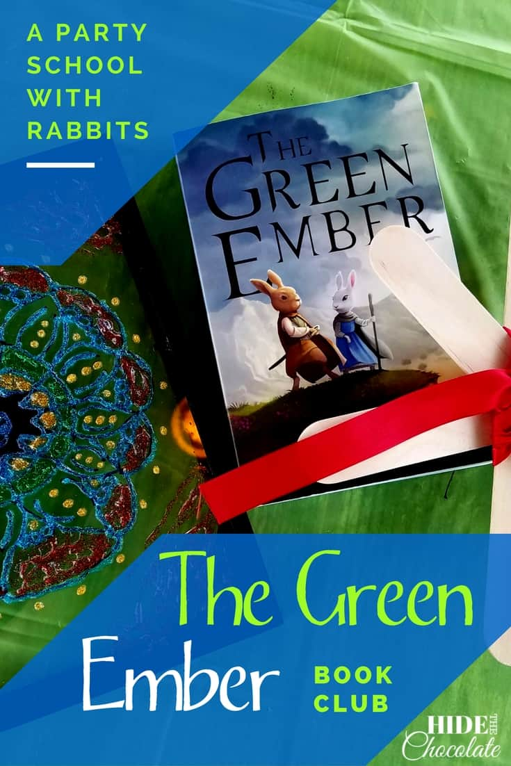 Stained glass art, emerald jewels, star seeks, storytelling, and a hike made up the latest book club about rabbits who climb trees and fight with swords, The Green Ember Book Club. #homeschooling