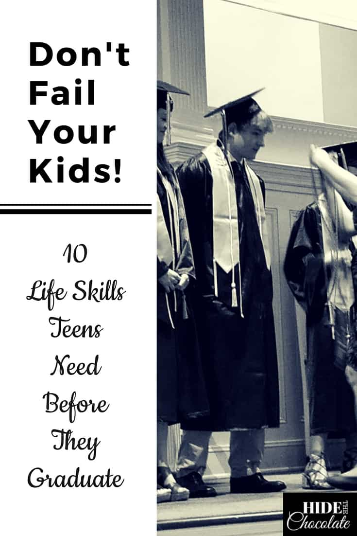 Don\'t Fail Your Kids! 10 Life Skills Teens Need Before They Graduate