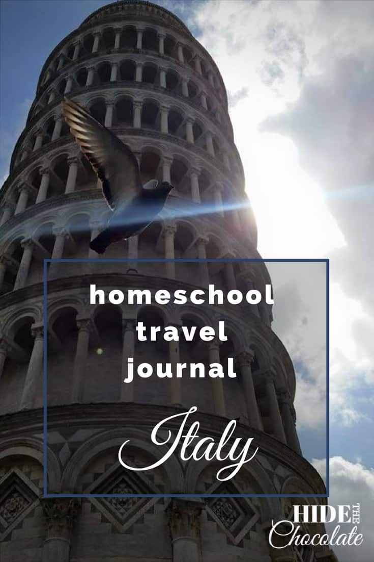 Homeschool Travel Journal: Italy