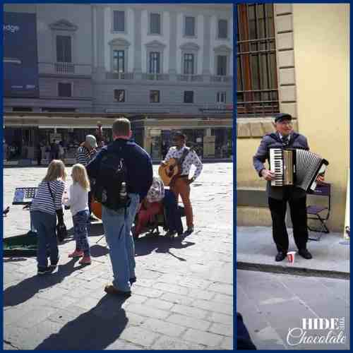 Homeschool Travel Journal: Italy Street Musicians