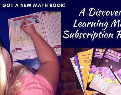 We Just Got a New Math Book! A Discovery Learning Math Subscription Review