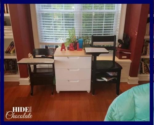 Homeschool Room- Desks