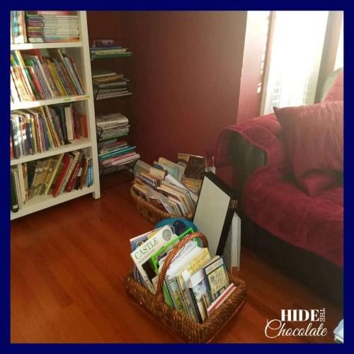 Homeschool Room- Morning Basket