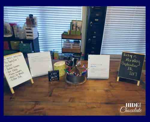Homeschool Room- Table