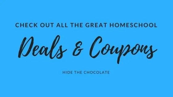 Current Homeschool Deals and Coupons