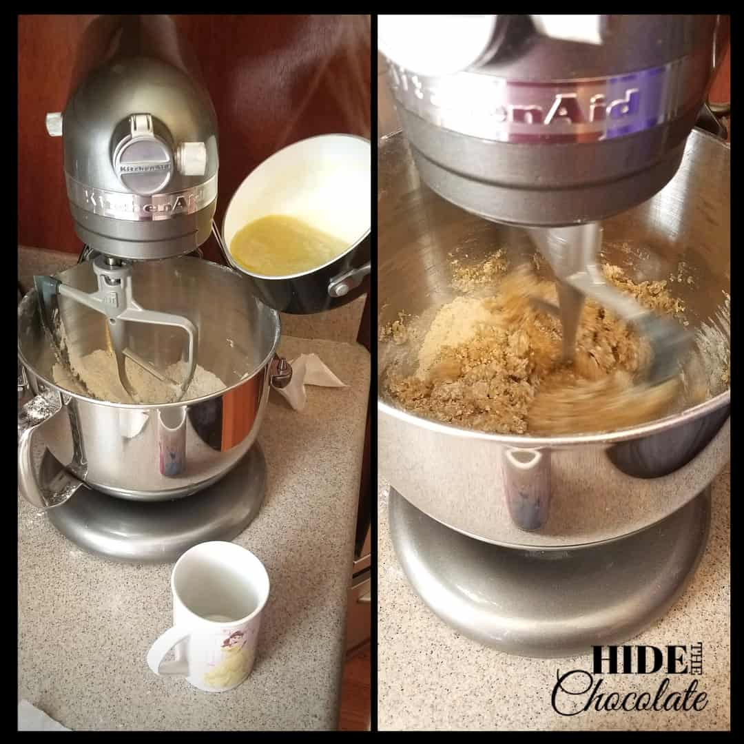 Pryaniki - Flour Mixture + Butter Mixture