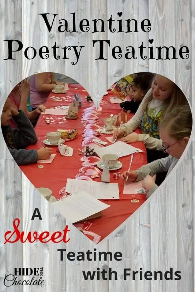 Valentine Poetry Teatime PIN