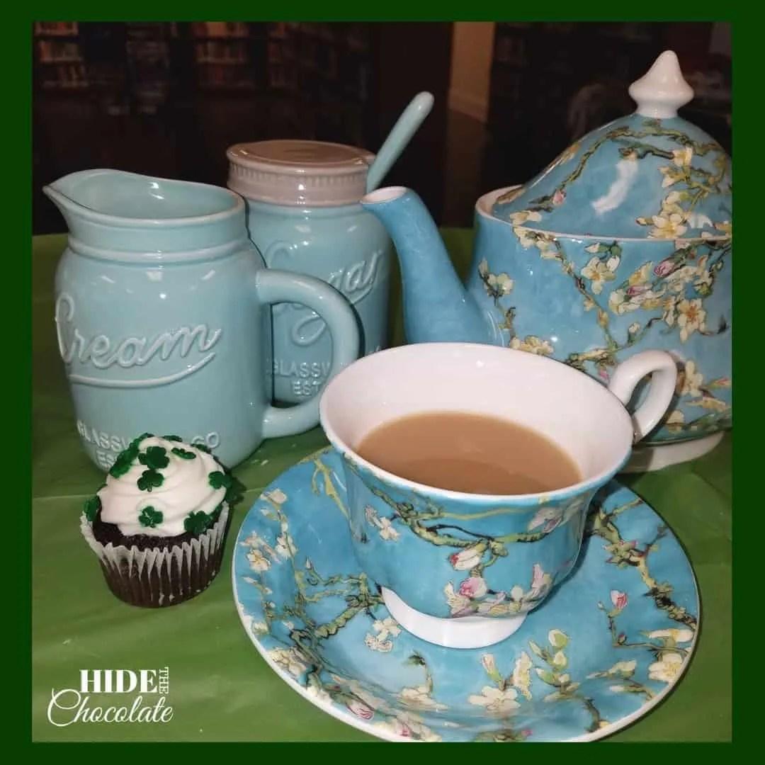 St. Patrick's Day Poetry Teatime Snacks