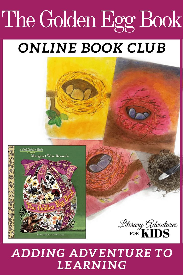 The Golden Egg Book Online Book Club for Kids ~ A Nature Adventure