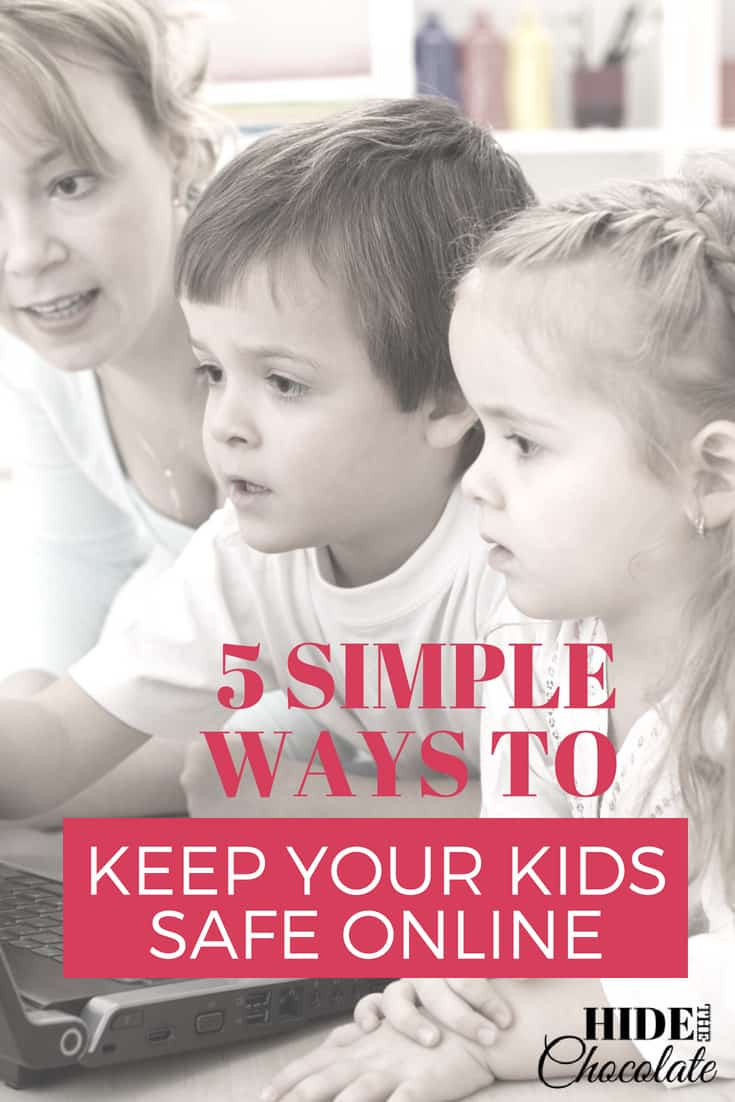 Five Simple Ways to Keep Your Kids Safe Online