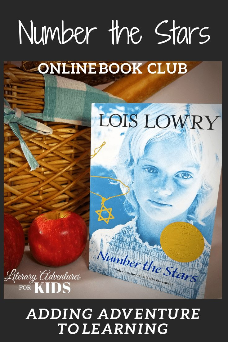 Number the Stars Online Book Club for Kids ~ A Novel Adventure