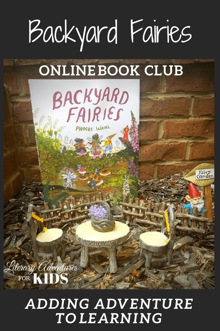 In the nature mini-course, Backyard Fairies Online Book Club for Kids, we will read the book by Phoebe Wahl. We'll go on rabbit trails of discovery about fairies, toadstools, moss; learn by experiencing parts of the book through arts and crafts; add a little nature study magic dust and go on outdoor adventures into nature. At the conclusion of the story, we will have a