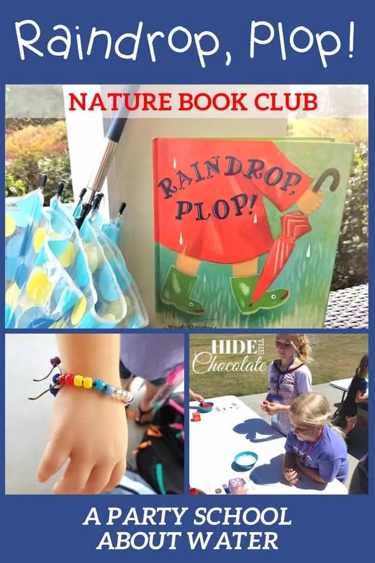 Raindrop Plop Book Club
