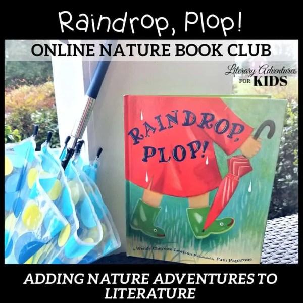 Raindrop Plop Online Nature Book Club