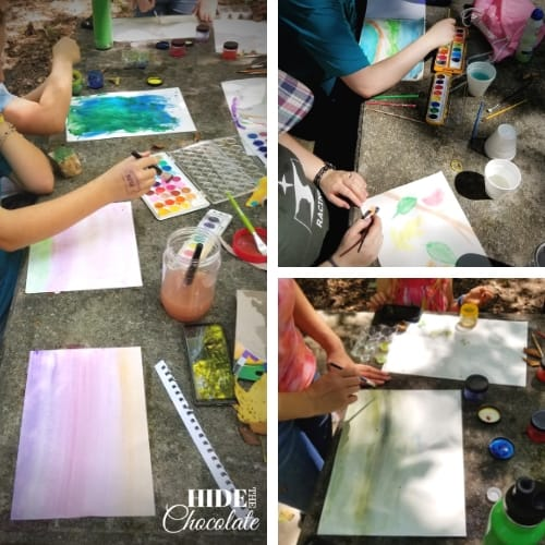 The Legend of the Indian Paintbrush Book Club Painting