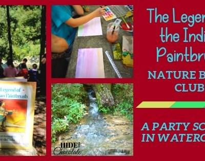 The Legend of the Indian Paintbrush Nature Book Club ~ A Party School in Watercolor