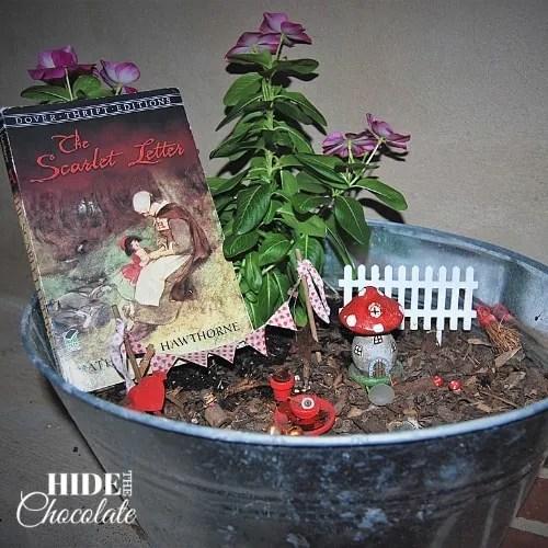 The Scarlet Letter Fairy Garden