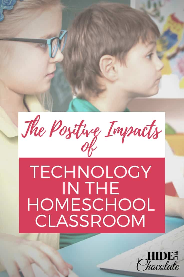 Smart technology is slowly changing the way we live our lives and it can also change the way you automate your homeschool classroom to create efficiency. #homeschooling #technologyintheclassroom