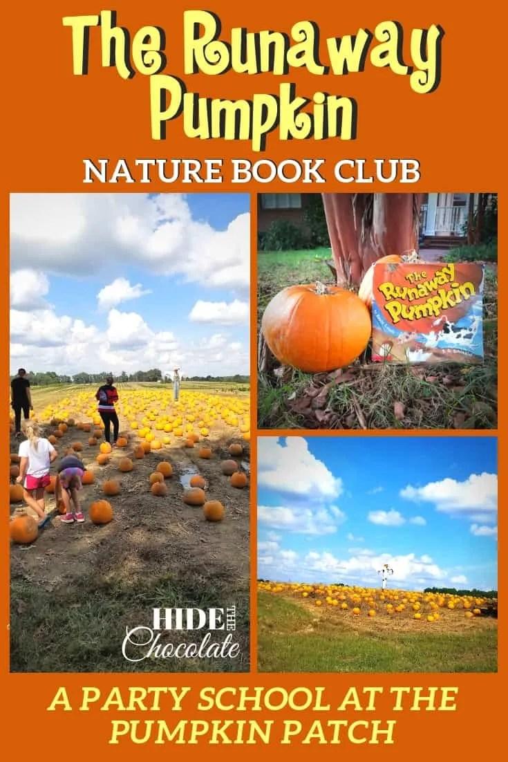 The Runaway Pumpkin Book Club Pinterest