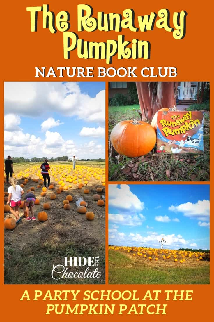 Picking pumpkins, eating pumpkin seeds, and finding our way through hay mazes were some of the fun we had in our #TheRunawayPumpkin #NatureBookClub this month. #LA4K #onlinebookclub #homeschooling