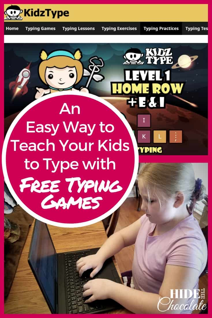 An Easy Way to Teach Your Kids to Type with Free Typing Games