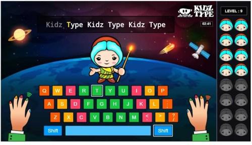 KidzType Typing Level